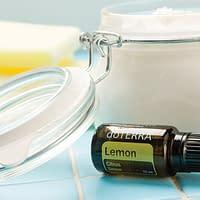 DIY Soft Scrub Cleanser using essential oils