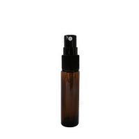 10ml amber glass mist spray bottle