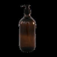500ml Amber Glass Pump Bottle