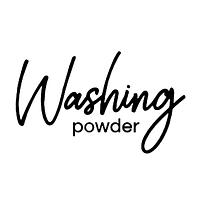 Washing Powder vinyl label