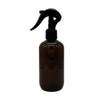 250ml Amber PET bottle with trigger spray